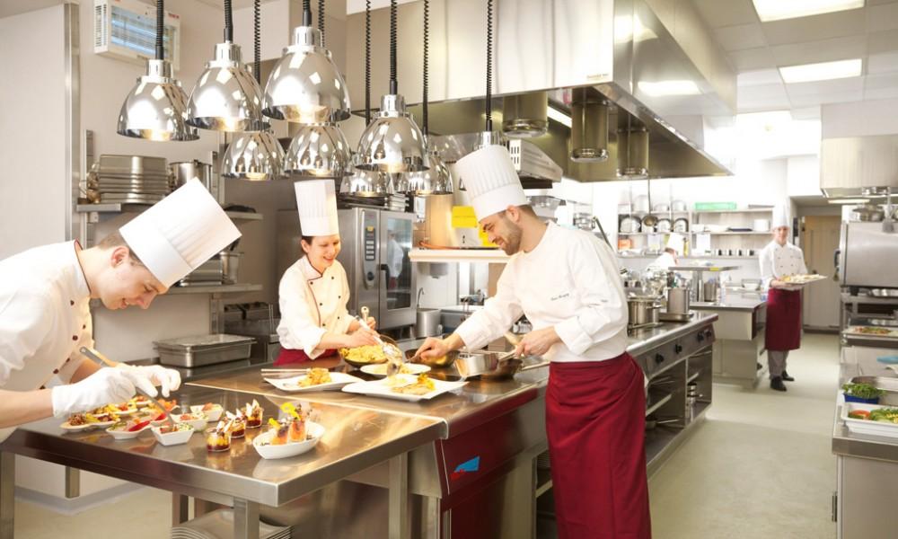 Kitchen Hotel Stefanie