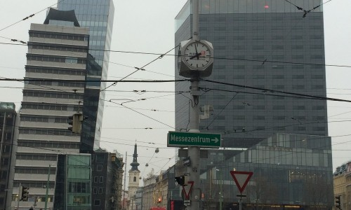 Special public clocks in Vienna
