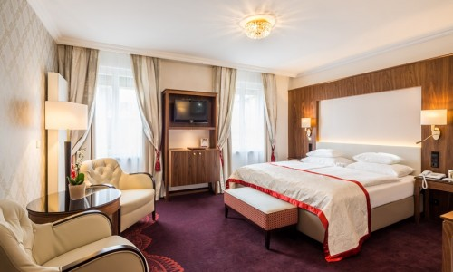 Double room at Hotel Stefanie
