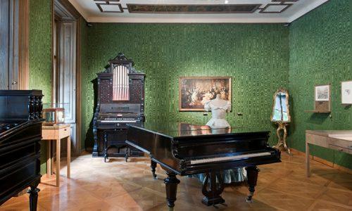 Johann Strauss Apartment, Wien Museum, Hertha Hurnaus