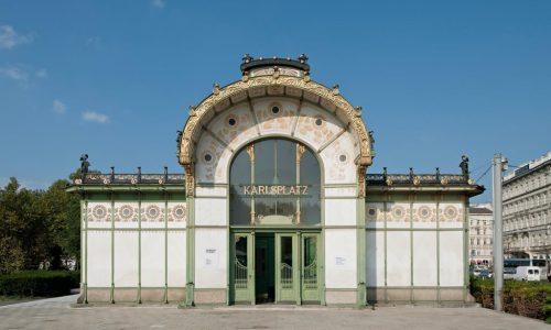 Otto Wagner Pavillon Karlsplatz-Foto Hertha Hurnaus(c)Wien Museum