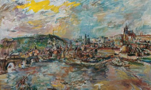 Oskar Kokoschka-Der Prager Hafen 1936(c)Belvedere Vienna