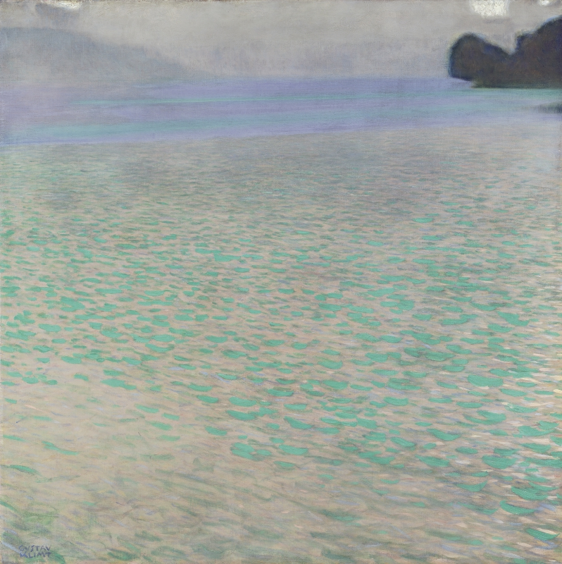 GUSTAV KLIMT, On Lake Attersee, 1900 © Leopold Museum, Vienna