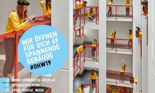 Plakat Open House Vienna 2019