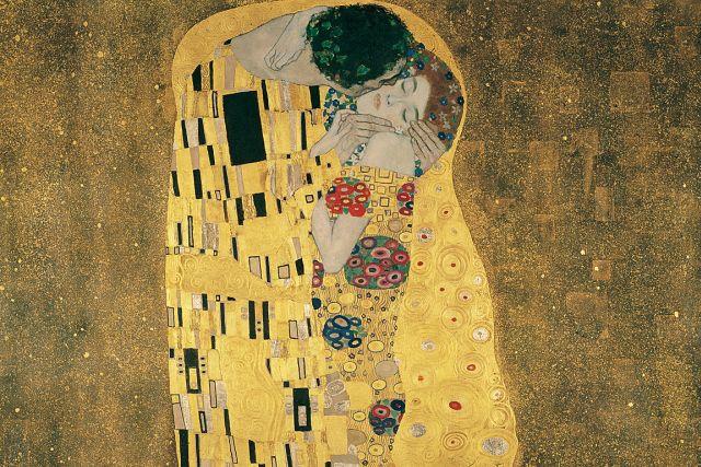 Gustav Klimt - Der Kuss