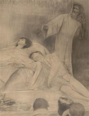 Gustav Klimt - Romeo & Julia
