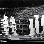 Bühnenbild für König Ödipus, Salzburg 1965