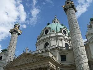 Karlskirche - Säulen