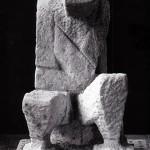 Sitzende Figur (Der Denker), 1948