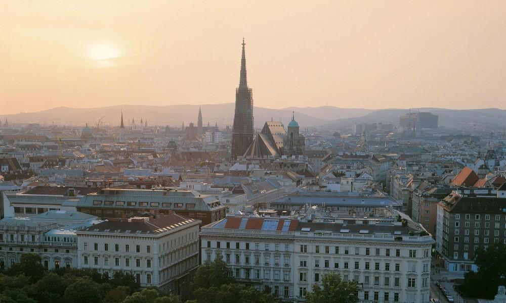 Aussicht über Wien