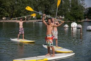 Paddle-Spaß in Wien