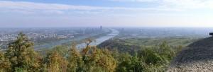 Blick auf Wien vom Leopoldsberg