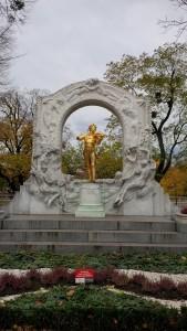 Strauß Denkmal