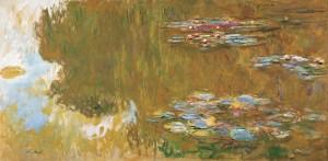 Claude Monet, Der Seerosenteich, um 1917-1919, Albertina, Wien - Sammlung Batliner