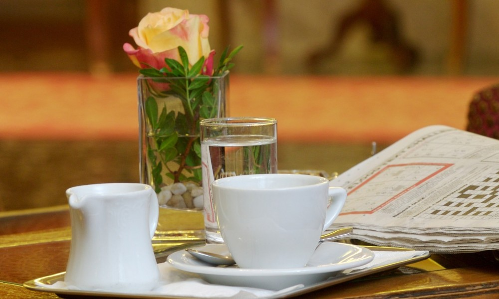 Wasser zum Kaffee