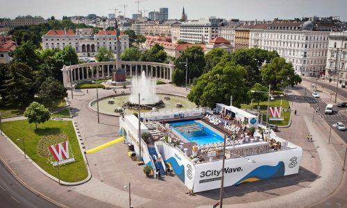 Wellenreiten in Wien © kreitner und partner