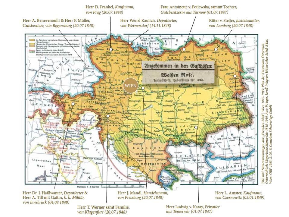 Plan des Kaisertums Österreich, 1815-1919 @Cornelsen Schulverlage GmbH
