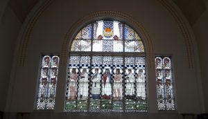 Renovierte Glasfenster