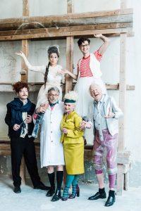 Das Ensemble zu Figaro, copyright Sabine Hauswirth
