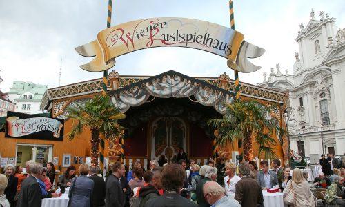 Eingang zum Lustspielhaus, © Katharina Schiffl