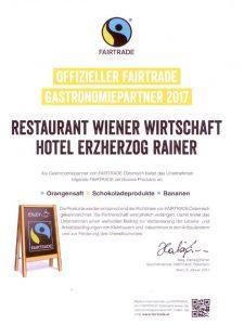 Alle Schick Hotels sind Partner von Fairtrade.