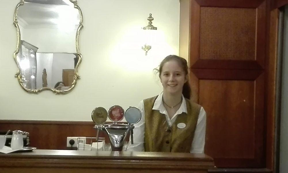 Michelle, Praktikantin im Hotel Stefanie