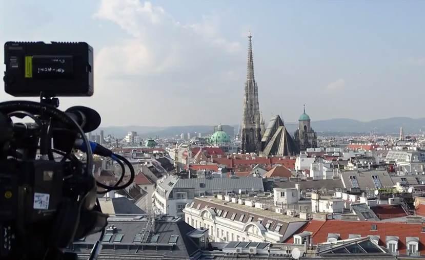 Kamera über Wien