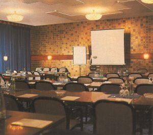 Modernster Konferenzsaal in den 70-er Jahren