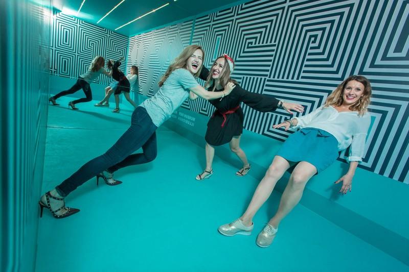 Anti-Gravitationsraum(c)Museum der Illusionen