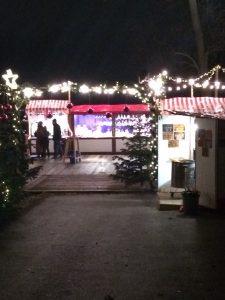 Eingang zum Weihnachtsmarkt