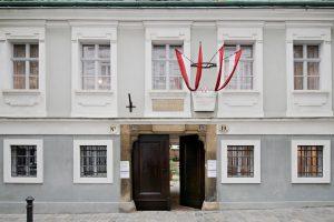 Haydnhaus Aussenansicht, Wien Museum, Foto Hertha Hurnaus