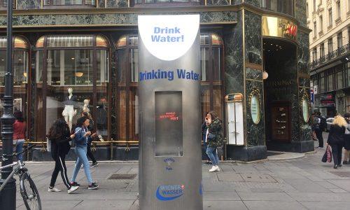 Mobiler Trinkwasserbrunnen