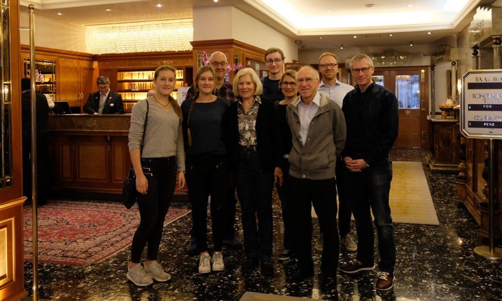 Familie Märkl feiert in Wien