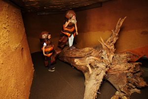Kostümparcours, ZOOM Kindermuseum. copyright J.J. Kucek