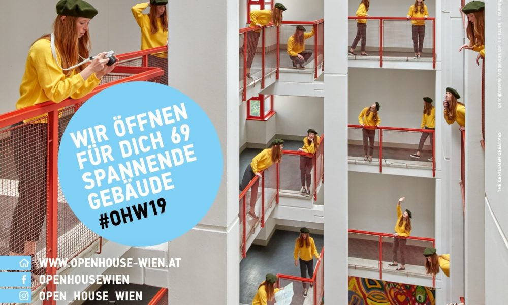 Plakat Open House Wien 2019