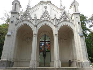 Eingang zur Sisi Kapelle