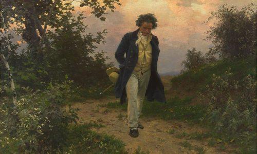 Julius Schmid Porträt von Ludwig van Beethoven, um 1901 © Wien Museum