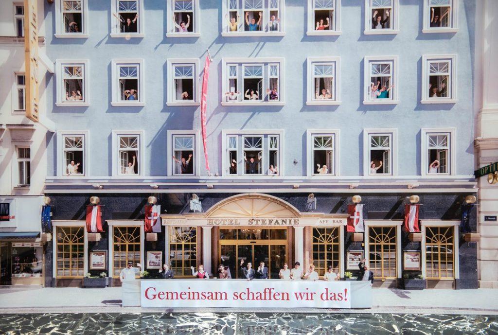 Gemeinsam schaffen wir das - Schick Hotels Wien