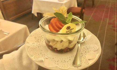 Tiramisu mit Balsamico Erdbeeren
